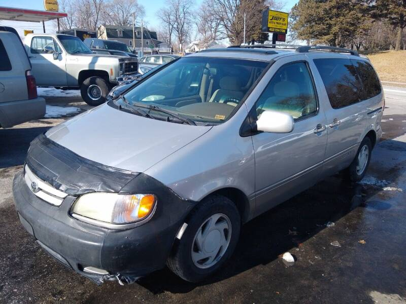 2001 Toyota Sienna for sale at Jodys Auto and Truck Sales in Omaha NE