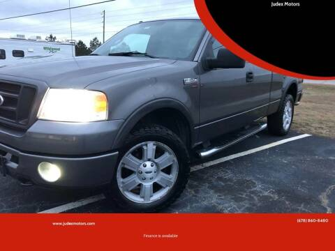 2007 Ford F-150 for sale at Judex Motors in Loganville GA