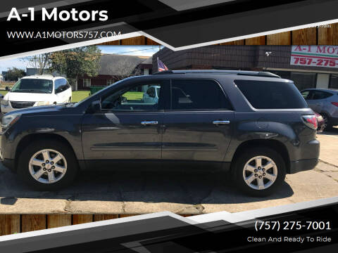 2014 GMC Acadia for sale at A-1 Motors in Virginia Beach VA