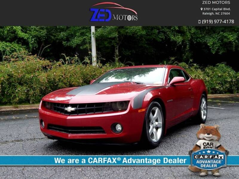 2011 Chevrolet Camaro for sale at Zed Motors in Raleigh NC