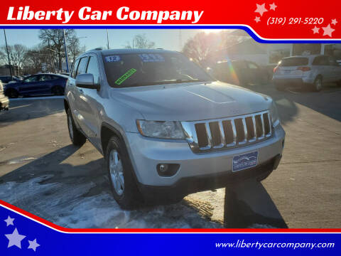 2012 Jeep Grand Cherokee for sale at Liberty Car Company in Waterloo IA