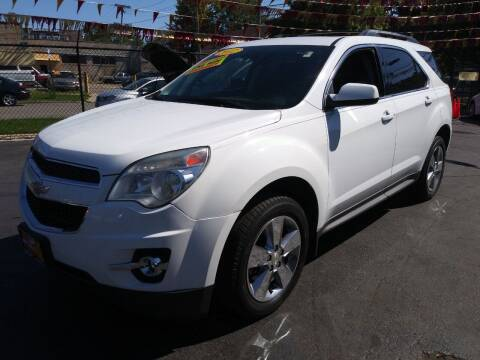 2012 Chevrolet Equinox for sale at RON'S AUTO SALES INC in Cicero IL