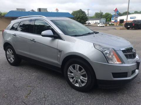 2010 Cadillac SRX for sale at Cherry Motors in Greenville SC