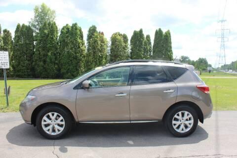 2012 Nissan Murano for sale at D & B Auto Sales LLC in Washington Township MI