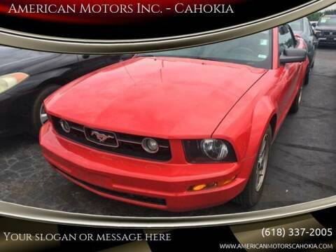 2005 Ford Mustang for sale at American Motors Inc. - Cahokia in Cahokia IL