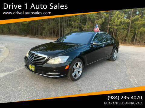 2010 Mercedes-Benz S-Class for sale at Drive 1 Auto Sales in Wake Forest NC