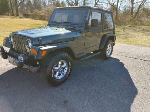 2004 Jeep Wrangler for sale at K & P Used Cars, Inc. in Philadelphia TN