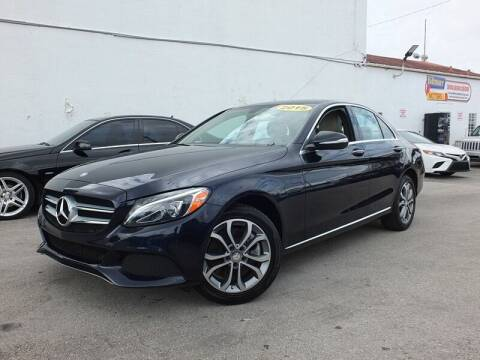 2015 Mercedes-Benz C-Class for sale at Port Motors in West Palm Beach FL