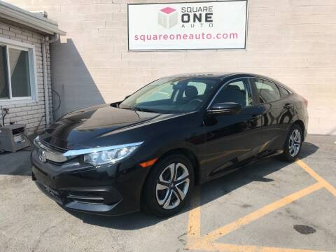 2017 Honda Civic for sale at SQUARE ONE AUTO LLC in Murray UT