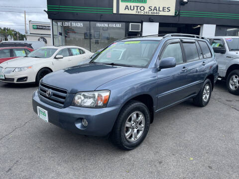 2007 Toyota Highlander for sale at Wakefield Auto Sales of Main Street Inc. in Wakefield MA
