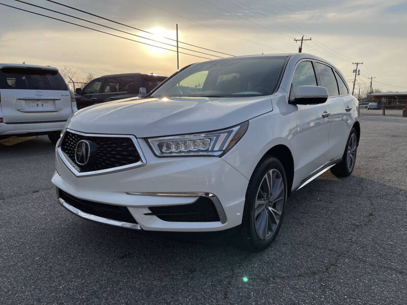 2018 Acura MDX for sale at Signal Imports INC in Spartanburg SC