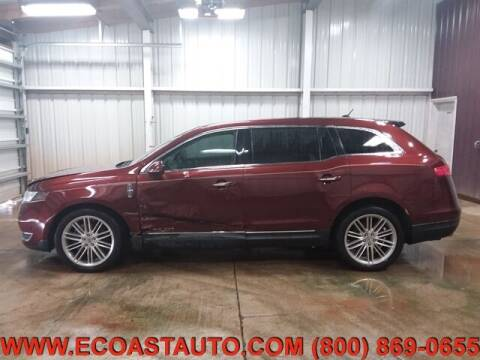 2015 Lincoln MKT for sale at East Coast Auto Source Inc. in Bedford VA