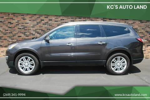 2013 Chevrolet Traverse for sale at KC'S Auto Land in Kalamazoo MI