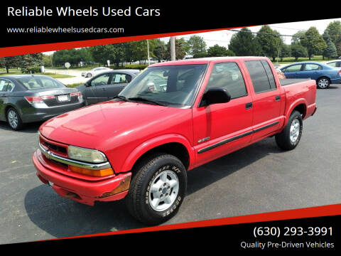 2003 Chevrolet S-10 for sale at Reliable Wheels Used Cars in West Chicago IL