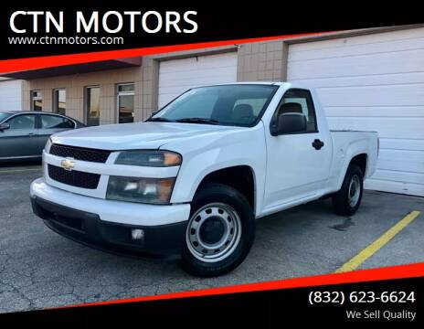 2009 Chevrolet Colorado for sale at CTN MOTORS in Houston TX