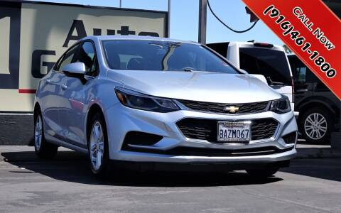 2017 Chevrolet Cruze for sale at H1 Auto Group in Sacramento CA