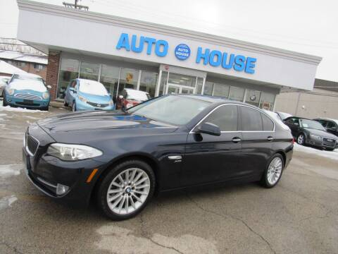 2011 BMW 5 Series for sale at Auto House Motors in Downers Grove IL