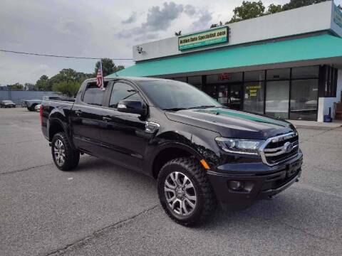 2019 Ford Ranger for sale at Action Auto Specialist in Norfolk VA