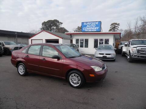 2006 Ford Focus for sale at Surfside Auto Company in Norfolk VA