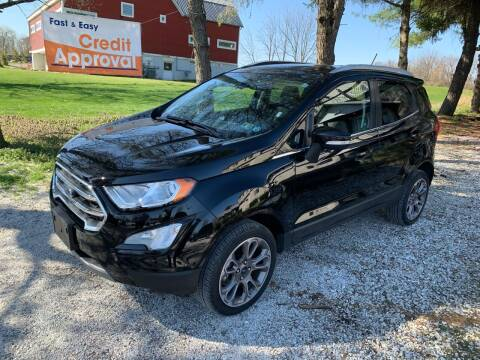 2019 Ford EcoSport for sale at Caulfields Family Auto Sales in Bath PA