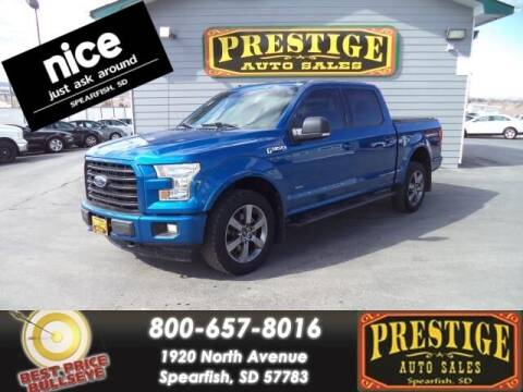 2017 Ford F-150 for sale at PRESTIGE AUTO SALES in Spearfish SD