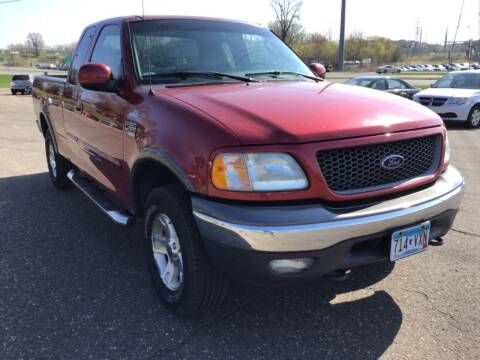 2002 Ford F-150 for sale at Sparkle Auto Sales in Maplewood MN