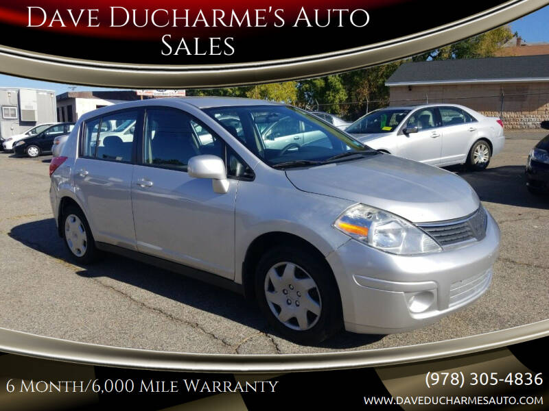 2009 Nissan Versa for sale at Dave Ducharme's Auto Sales in Lowell MA