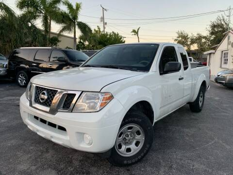 2017 Nissan Frontier for sale at Citywide Auto Group LLC in Pompano Beach FL