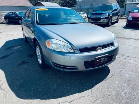 2006 Chevrolet Impala for sale at SHEFFIELD MOTORS INC in Kenosha WI