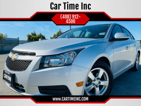 2014 Chevrolet Cruze for sale at Car Time Inc in San Jose CA