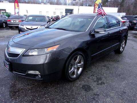 2012 Acura TL for sale at Top Line Import of Methuen in Methuen MA