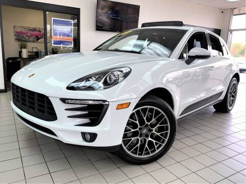 2015 Porsche Macan for sale at SAINT CHARLES MOTORCARS in Saint Charles IL