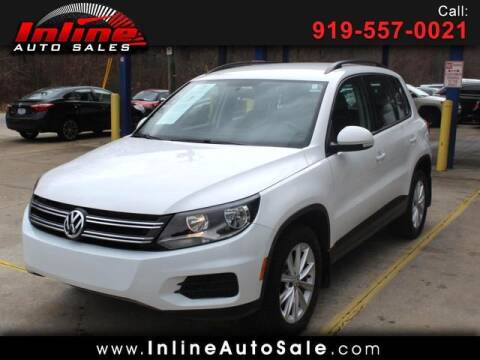 2018 Volkswagen Tiguan Limited for sale at Inline Auto Sales in Fuquay Varina NC