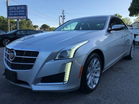 2014 Cadillac CTS for sale at Capital Motors in Raleigh NC