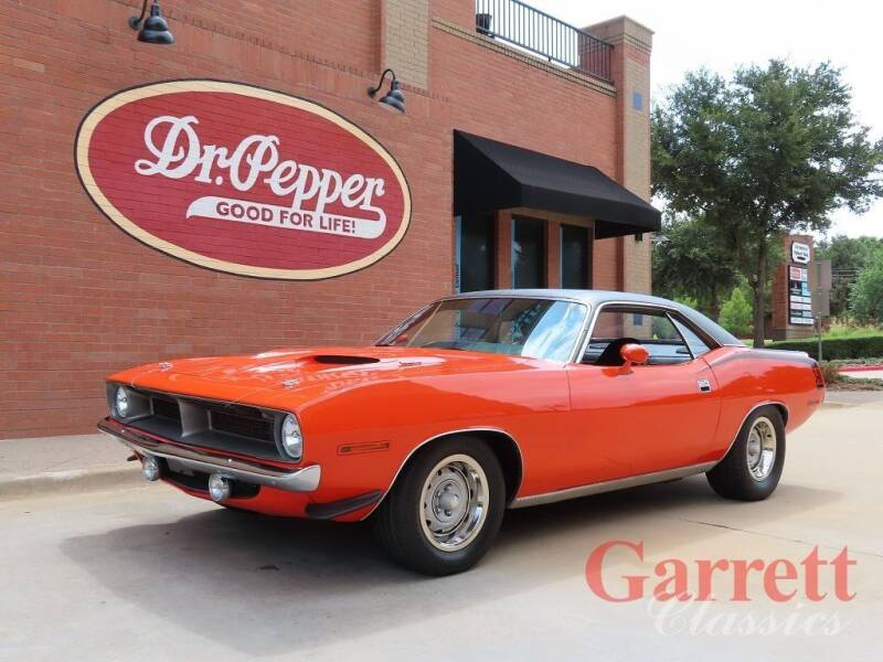 1970 Plymouth Barracuda for sale at Garrett Classics in Lewisville TX