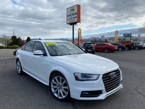 2014 Audi A4 for sale at TDI AUTO SALES in Boise ID