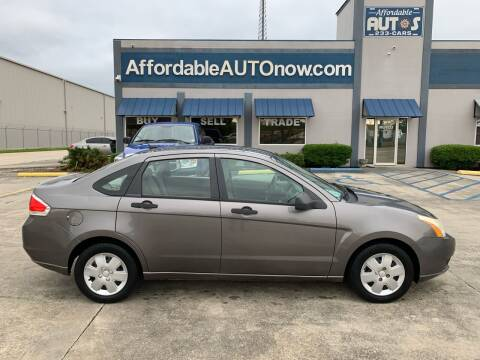 2010 Ford Focus for sale at Affordable Autos in Houma LA