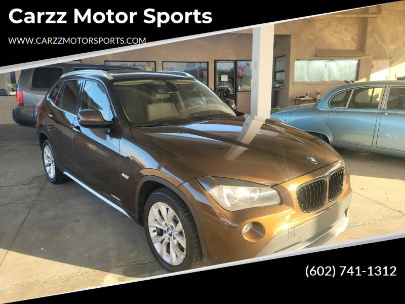 2012 BMW X1 for sale at Carzz Motor Sports in Fountain Hills AZ