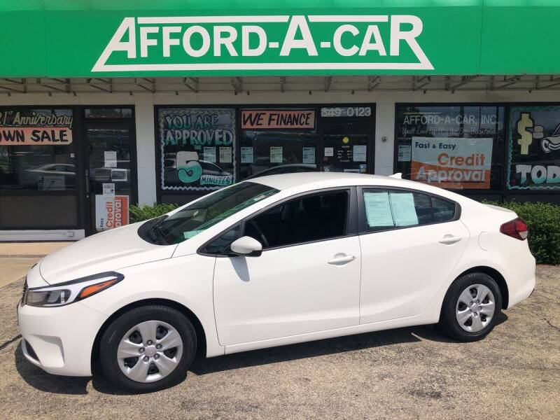 2017 Kia Forte for sale at Afford-A-Car in Dayton/Newcarlisle/Springfield OH