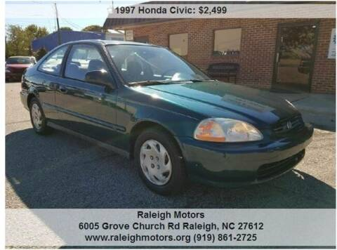 1997 Honda Civic for sale at Raleigh Motors in Raleigh NC