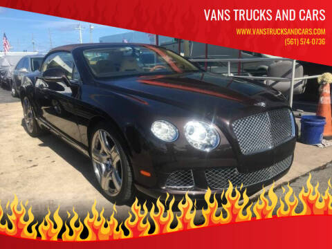 2013 Bentley Continental for sale at Car Girl 101 in Oakland Park FL