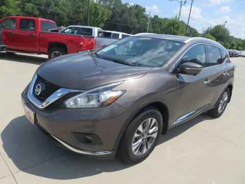 2015 Nissan Murano for sale at Azteca Auto Sales LLC in Des Moines IA