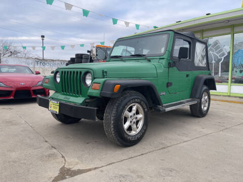 1997 Jeep Wrangler for sale at Super Trooper Motors in Madison WI
