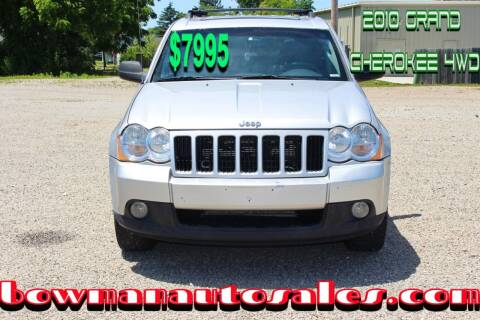 2010 Jeep Grand Cherokee for sale at Bowman Auto Sales in Hebron OH