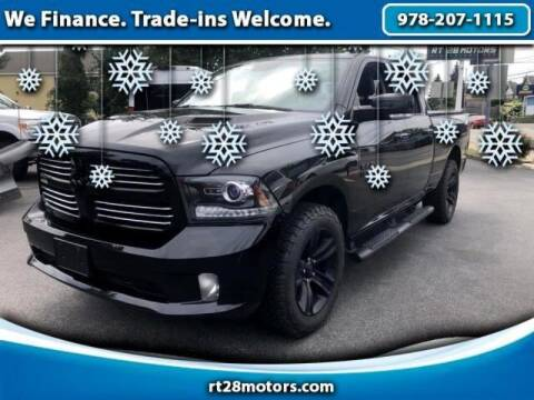 2017 RAM Ram Pickup 1500 for sale at RT28 Motors in North Reading MA