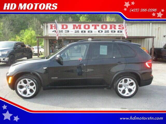 2013 BMW X5 for sale at HD MOTORS in Kingsport TN