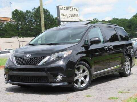 2014 Toyota Sienna for sale at Marietta Auto Mall Center in Marietta GA