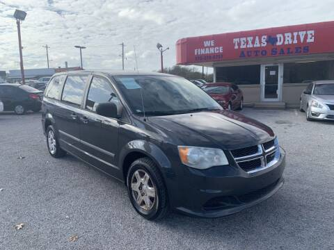 2012 Dodge Grand Caravan for sale at Texas Drive LLC in Garland TX