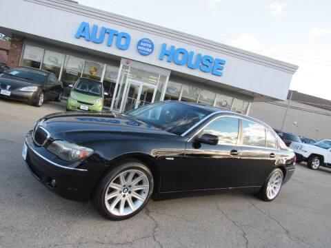 2006 BMW 7 Series for sale at Auto House Motors in Downers Grove IL