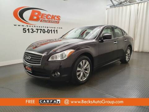 2012 Infiniti M37 for sale at Becks Auto Group in Mason OH